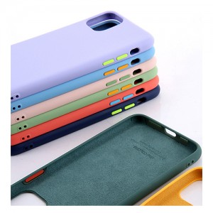 Regular Four Sides Protection Liquid Silicone Case