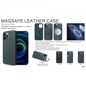 Magsafe Case for Phone PU/(Real Leather/Silicone Phone Cases
