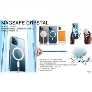 Magsafe Crystal PC+TPU Phone Case